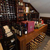 Exclusiva Cava de vinos del Restaurante Don Cándido