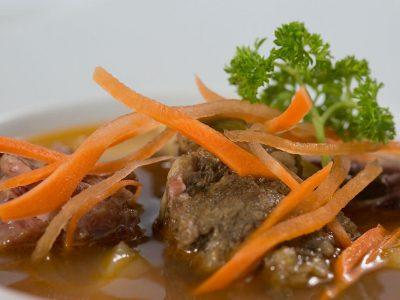 Deliciosas sopas en Restaurante Don Cándido