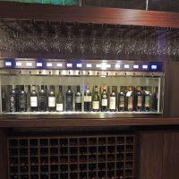 Dispensador de vinos en Restaurante Don Candido